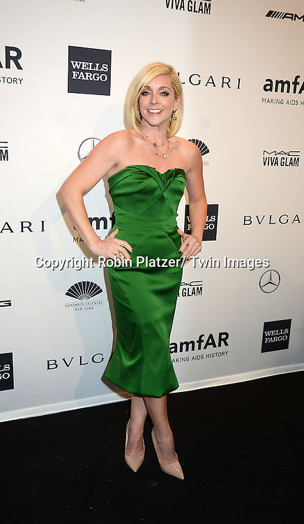 Jane Krakowski attends the amfAR New York Gala on February 5, 2014 at Cipriani Wall Street in New York City.