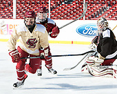 Kate Annese (BC - 24), Erin Connolly (BC - 15), Katie Burt (BC - 33) - The Boston College Eagles practiced at Fenway on Monday, January 9, 2017, in Boston, Massachusetts.Kate Annese (BC - 24), Erin Connolly (BC - 15), Katie Burt (BC - 33) - The Boston College Eagles practiced at Fenway on Monday, January 9, 2017, in Boston, Massachusetts.