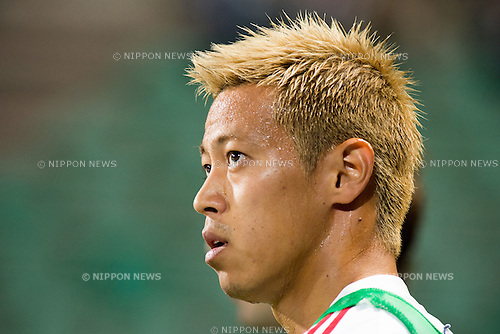 Keisuke Honda (Milan), AUGUST 23, 2014 - Football / Soccer : TIM Trophy match between Juventus, AC Milan and Sassuolo at Mapei Stadium-Citta' del Tricolore in Reggio nell'Emilia, Italy. (Photo by Enrico Calderoni/AFLO SPORT)