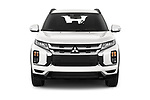 Car photography straight front view of a 2020 Mitsubishi ASX Intense 5 Door SUV
