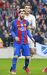 03.12.2016 Barcelona. La Liga. Picture show Cristiano Ronaldo and Leo Messi in action during game between Fc Barcelona against Real Madrid at Camp Nou