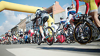 and they're off!<br /> <br /> GP Le Samyn 2014