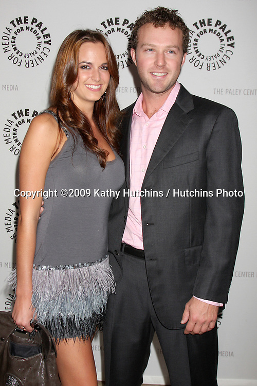 Jena Sims & Devon Gummersall.arriving at the Drop Dead Diva: Season 1 Finale at the Paley Center for Media.Paley Center for Media.Beverly Hills,  CA.October 7,  2009.©2009 Kathy Hutchins / Hutchins Photo.