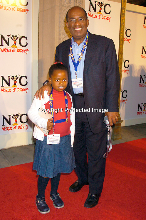 Leila Roker and Al Roker ..at the World of Disney Store opening on October 4, 2004 ..on Fifth Avenue in New York City. Photo by Robin Platzer, Twin Images