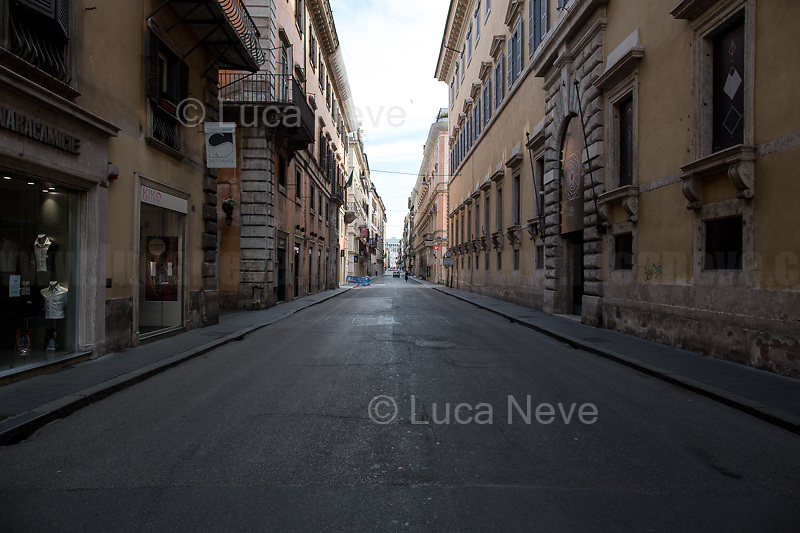 Via del Corso.<br />