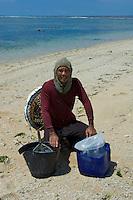 Bali Beach, Cyanide Fisherman