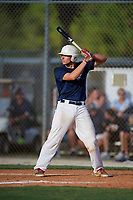Joe Mack during the WWBA World Championship at the Roger Dean Complex on October 18, 2018 in Jupiter, Florida.  Joe Mack is a catcher from Williamsville, New York who attends Williamsville East High School and is committed to Clemson.  (Mike Janes/Four Seam Images)