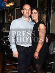 Ciaran and Debbie O'Sullivan enjoying the new years eve celebrations in The Grey Goose. Photo:Colin Bell/pressphotos.ie