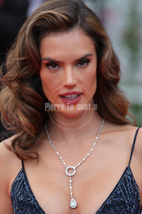 Cannes Film Festival 2018 - 71st edition - Day 8 - May 15 in Cannes, on May 15, 2018; Screening of 'Solo: A star Wars Story;    Brazilian model Alessandra Ambrosio. © Pierre Teyssot / Maxppp