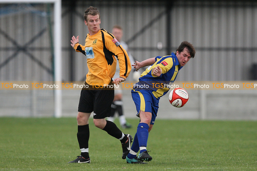 Ricki Mackin in action for Romford - Romford vs Cheshunt - Ryman League Division One North Football at Mill Field, Aveley - 10/09/11 - MANDATORY CREDIT: Gavin Ellis/TGSPHOTO - Self billing applies where appropriate - 0845 094 6026 - contact@tgsphoto.co.uk - NO UNPAID USE.