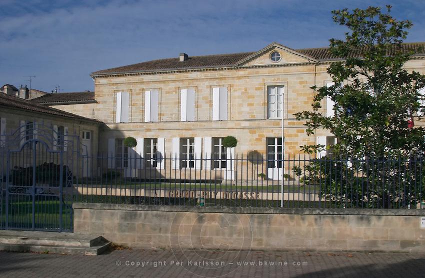 Chateau Grand Puy Ducasse in pauillac village. Medoc, Bordeaux, France