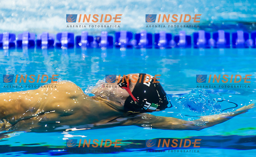 BONACCHI Niccolo' ITA<br /> Men's 200m backstroke heats<br /> Netanya, Israel, Wingate Institute<br /> LEN European Short Course Swimming Championships  Dec. 2 - 6, 2015 Day01 Dec. 2nd<br /> Nuoto Campionati Europei di nuoto in vasca corta<br /> Photo Giorgio Perottino/Deepbluemedia/Insidefoto