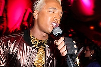 "LOS ANGELES, CA - JUNE 14: Polish popstar Kuba Ka performs his single ""Stop Feenin'"" at Hyde Nightclub on June 14, 2013 in Los Angeles, California. (Photo by Celebrity Monitor)"