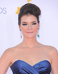 Betsy Brandt. at The 64th Anual Primetime Emmy Awards held at Nokia Theatre L.A. Live in Los Angeles, California on September  23,2012                                                                   Copyright 2012 Hollywood Press Agency