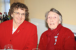 ROse Coyle and Mary Moran.having there christmas dinner int he Dermot Kierans Centre..Picture Fran Caffrey/www.newsfile.ie.