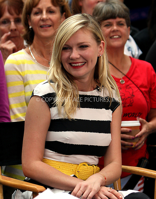 WWW.ACEPIXS.COM....September 5 2012, New York City....Actress Kirsten Dunst made an appearance on Good Morning America on September 5 2012 in New York City....By Line: Zelig Shaul/ACE Pictures......ACE Pictures, Inc...tel: 646 769 0430..Email: info@acepixs.com..www.acepixs.com