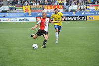 VOETBAL: LEEUWARDEN: 16-08-2015, SC Cambuur - Feyenoord, uitslag 0-2, Dirk Kuyt (#7), ©foto Martin de Jong