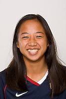 Rachel Quon. U-17 USA Women's National Team head shots on September 16, 2008. Photo by Howard C. Smith/isiphotos.com