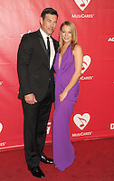 WWW.BLUESTAR-IMAGES.COM Singer LeAnn Rimes (R) and husband, actor Eddie Cibrian attend 2014 MusiCares Person Of The Year Honoring Carole King at Los Angeles Convention Center on January 24, 2014 in Los Angeles, California.<br /> Photo: BlueStar Images/OIC jbm1005  +44 (0)208 445 8588