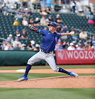 Kolby Allard - Texas Rangers 2020 spring training (Bill Mitchell)
