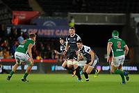Owen Watkin of Ospreys in action during the Guinness Pro14 Round 4 match between the Ospreys and Benetton Rugby at the Liberty Stadium in Swansea, Wales, UK. Saturday 22 September 2018