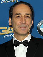 03 February 2018 - Los Angeles, California - Alexandre Desplat. 70th Annual DGA Awards Arrivals held at the Beverly Hilton Hotel in Beverly Hills. <br /> CAP/ADM<br /> &copy;ADM/Capital Pictures
