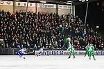 Stockholm 2013-11-08 Bandy Elitserien Hammarby IF - Villa Lidk&ouml;ping BK :  <br /> Publik p&aring; huvudl&auml;ktaren p&aring; Zinkensdamms IP under matchen <br /> (Foto: Kenta J&ouml;nsson) Nyckelord:  supporter fans publik supporters