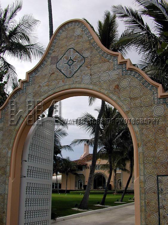 Donald Trump's Mar-A-Largo Resort in <br /> Palm Beach, Florida on January 1, 2002