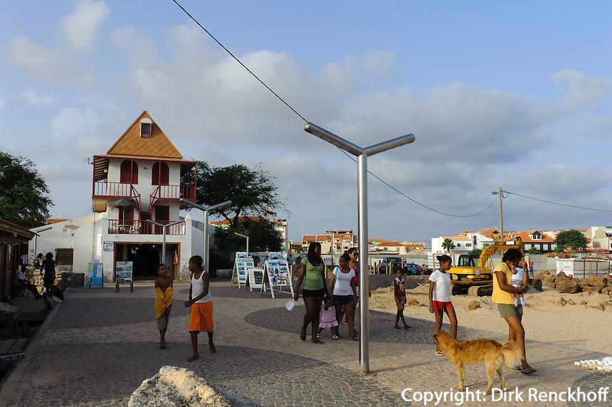 ehemaliges Wiegehaus für Salz, Santa Maria, Sal, Kapverden, Afrika