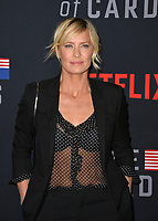 "LOS ANGELES, CA. October 22, 2018: Robin Wright at the season 6 premiere for ""House of Cards"" at the Directors Guild Theatre.<br /> Picture: Paul Smith/Featureflash"