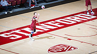 STANFORD, CA - March 14, 2019: Jordan Ewert at Maples Pavilion. The #8 Stanford Cardinal fell to the #6 Pepperdine Waves 3-0.