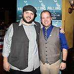 Daniel Everidge & guest attending the Off-Broadway Opening Night Performance After Party for 'Falling' at Knickerbocker Bar & Grill on October 15, 2012 in New York City.