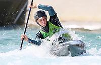 River Mutton. Oceania Canoe Slalom Championships, Whero Whitewater Park, Auckland, New Zealand, 1st February 2020. Photo: Simon Watts/www.bwmedia.co.nz