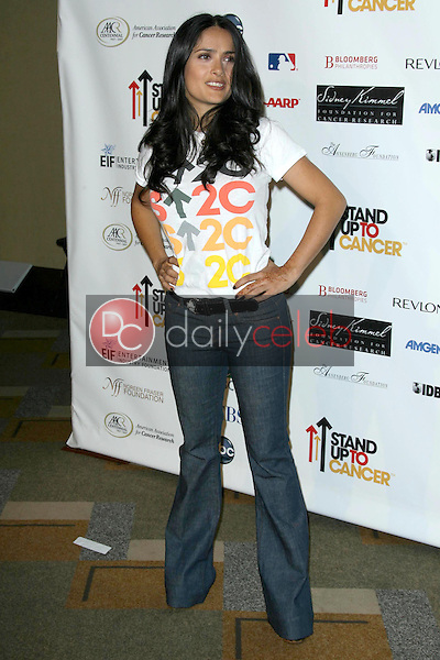 Salma Hayek<br />at Stand Up To Cancer. Kodak Theater, Hollywood, CA. 09-05-08<br />Dave Edwards/DailyCeleb.com 818-249-4998