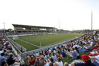 Morrison Stadium, Omaha Nebraska...USWNT tied Sweden 1-1 at Morrison Stadium, Omaha Nebraska.