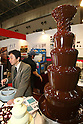 Apr. 8, 2010 - Tokyo, Japan - A chocolate Fountain is on display during the Dessert Sweet & Drink Festival 2010 at Tokyo Big Sight, on April 8, 2010. Organized by the Japan Food Journal and the All Japan Confectionery Association, the event will run April 8-9 and 65,000 trade professionals are expected to attend.