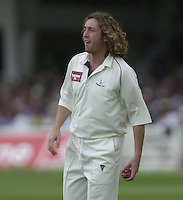 Photo Peter Spurrier.31/08/2002.Cheltenham & Gloucester Trophy Final - Lords.Somerset C.C vs YorkshireC.C..Yorkshire - Ryan Sidebottom