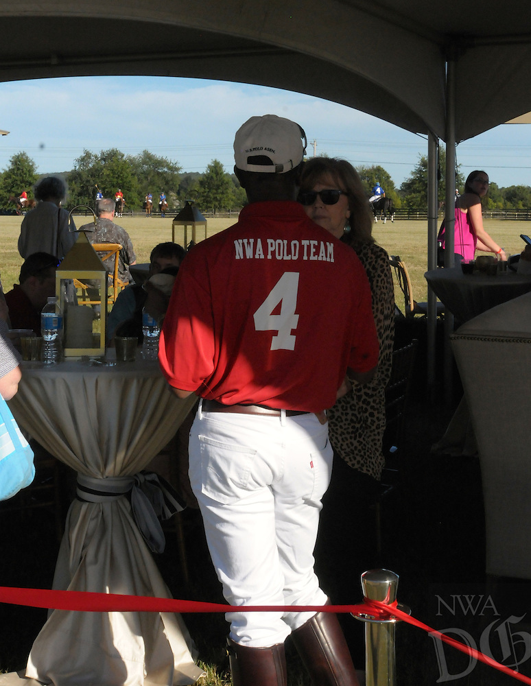 NWA Democrat-Gazette/JOCELYN MURPHY<br /> Guests enjoy the tailgating at the 27th annual Polo in the Ozarks, hosted at the Buell Farm in Fayetteville on Saturday, Sept. 10, 2016.