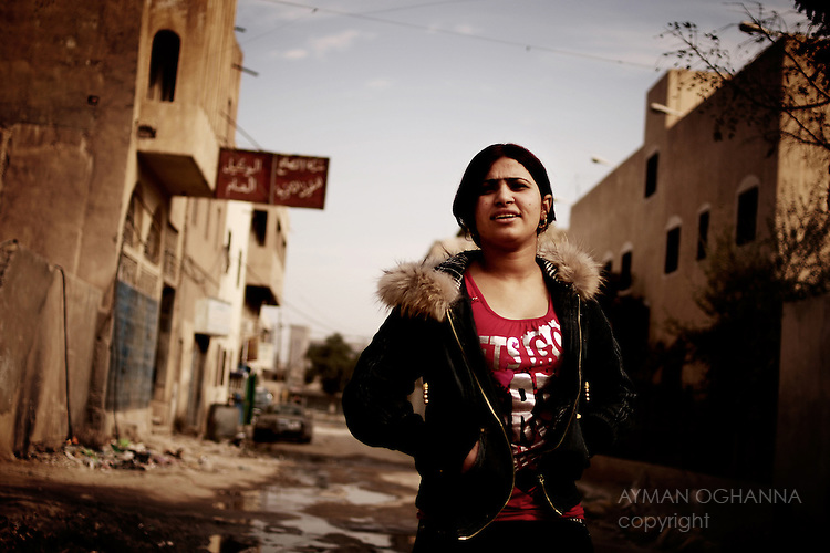 Baghdad, Iraq  : Thur 4rd Dec 2009 :..Zameen Jabbar, 18, was a popular dancer in Baghdad's al Khaim nightclub. She is now unemployed and searching for work after Police raided and closed her nightclub following a decree from Iraqi PM Nuri al Maliki. ..Ayman Oghanna For The Observer