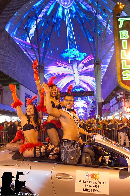 2010 Las Vegas Pride Parade at Fremont Street