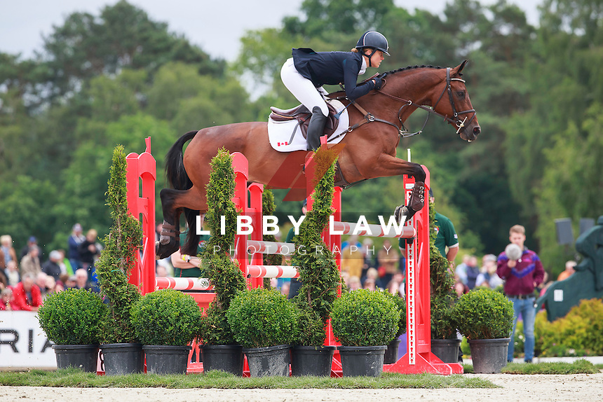 CAN-Rebecca Howard (RIDDLE MASTER) FINAL-11TH: CIC3* Meßmer Trophy Showjumping: 2016 GER-Luhmuehlen TGL (Sunday 19 June) CREDIT: Libby Law COPYRIGHT: LIBBY LAW PHOTOGRAPHY