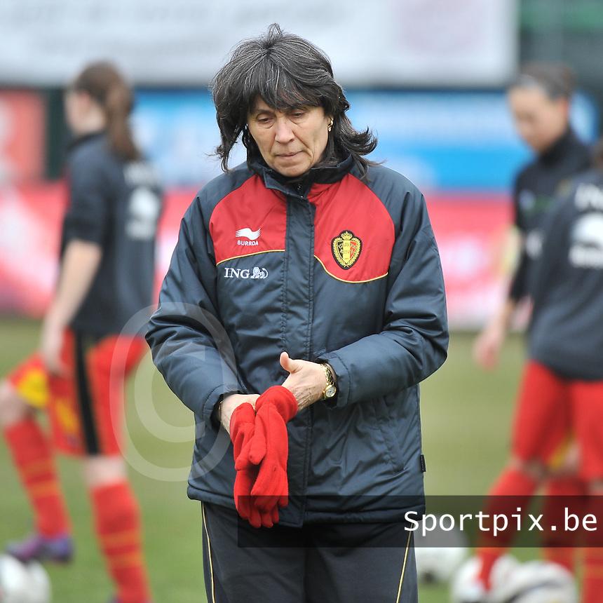 Belgium U19 - Switzerland U19 : fery ferraguzzi.foto DAVID CATRY / Nikonpro.be