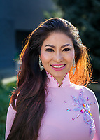 Hana Hanh Tran, Tet In Seattle,  Vietnamese New Year Festival 2019, Seattle Center, WA, USA.