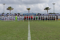 LAKEWOOD RANCH, FL - December 1, 2016: U-17/18 Lonestar SC vs  Sacramento Republic FC. 2016 Nike International Friendlies at Premier Sports Campus.
