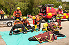 South Yorkshire Fire and Rescue Service practise recovering victims from the water