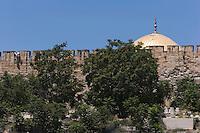Asie/Israël/Judée/Jérusalem: la Vieille ville de Jérusalem depuis le mont des Oliviers