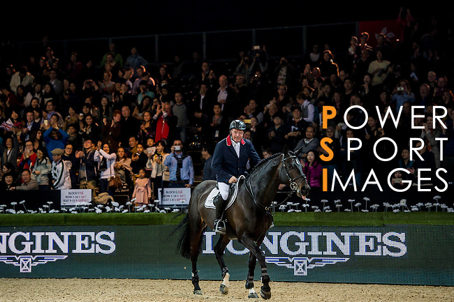 Riders in action during the Longines Grand Prix as part of the Longines Hong Kong Masters on 15 February 2015, at the Asia World Expo, outskirts Hong Kong, China. Photo by Victor Fraile / Power Sport Images