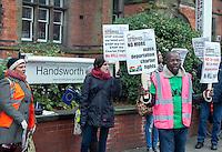 Movement for Justice Demo, Soho Road, Handsworth, Birmingham, 21st Jan 2017