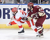 Bryan Ewing, Benn Ferreiro - The Boston College Eagles defeated the Boston University Terriers 5-0 on Saturday, March 25, 2006, in the Northeast Regional Final at the DCU Center in Worcester, MA.