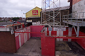 23/06/2000 Blackpool FC Bloomfield Road Ground.West stand entrance....© Phill Heywood.